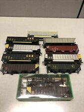 10 HO Scale Coal Hoppers Some Weighted CSX, Chessie , *please read*