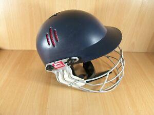Slazenger Pro International Cricket Helmet Mens 60-63cm Youth 54-57cm