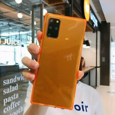 Neón Fluorescente Color Silicona Funda Cubierta para Samsung Galaxy S20 5G S10 S9+ A71