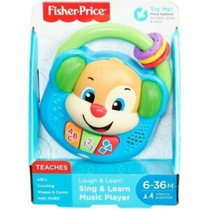Fisher-Price Laugh & Learn Sing & Learn Music Player, Baby Early Learning