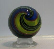 """Signed  Art Glass Marble - 2.05"""" diameter (52.1 mm)   (6)"""