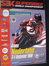 Program SBK Superbike World Championship TT Circuit Assen 3-5 sept 1999 (TTC)