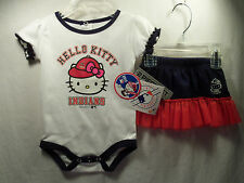 Cleveland Indians MLB Bodysuit & Skirt Set Infant 12 Months NEW