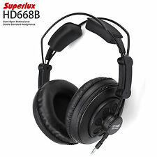 Superlux Professional DJ HeadPhones HD668B -  Studio Standard Monitoring Quality