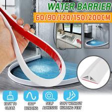 Силиконовый душ воды барьер порог воды плотина складной удержания в ванной