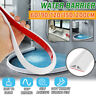 Silicone Shower Water Barrier Threshold Water Dam Collapsible Retention Bathroom
