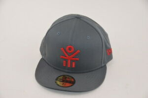 Ekocycle Logo Grey / Red New Era 59Fifty Fitted Size 7 3/8