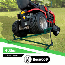 More details for ride on lawn mower lift 400kg lifting device ramp garden tractor jack lifter