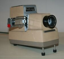 Vintage Argus 300 automatic slide projector 300 Standard Model III Beige / Sand
