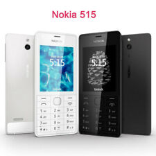 "Original NOKIA 515 2.4"" Single/tarjeta SIM doble desbloqueado GSM teléfono reacondicionado Moble"