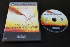 Return With Honor (DVD) Freida Lee Mock film PBS Home Video American Experience