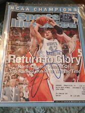 Sean May North Carolina Signed Sports Illustrated