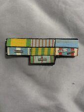 French Vietnam Ww2 Indochina Ribbon Bar Ribbon Rack
