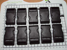 "10pcs. Plastic Side Release Buckles For Webbing 25mm Bags Straps Clips  ""B"""