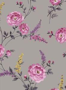 1 Roll Of Sophie Conran Wallpaper Posie Viola 950900