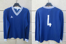 Maillot ANGOULEME n°4 vintage années 70 LE COQ SPORTIF shirt trikot collection M
