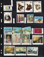ROMANIA 8 STOCK PAGES COLLECTION LOT 275 STAMPS
