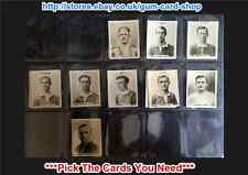 FOOTBALLERS ADDRESS: PINNACE 1922 (CARDS 801-850) (G) *PLEASE SELECT*