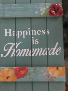 The Pioneer Woman Happiness is Homemade Wood Sign Large Spring
