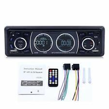 Car Stereo Bluetooth Receiver Single Din Universal Car Radio MP3 Player US Ship