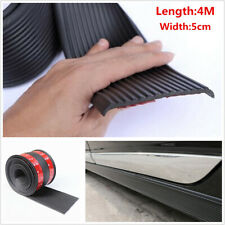 Universal 4M Car Body Side Skirt Anti-Scratch Bumper Diffuser Decorative Strips