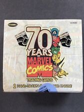 Marvel 70th Anniversary Factory Sealed Box Rittenhouse 2010