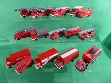 Wiking Herpa H0 Konvolut diverser Rettungsfahrzeuge Feuerwehr