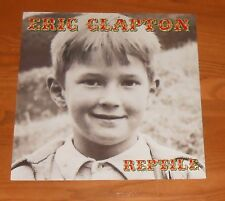 Eric Clapton Reptile Poster 2-Sided Flat Square 2001 Promo 12x12