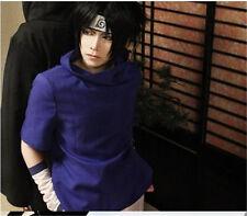 NARUTO Uchiha Sasuke cosplay wig black wig+wig cap