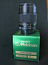 Makinon 135mm 2.8 lens for Contax yashica mount new in box new old stock