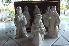 Lenox China Jewels Nativity Three Kings- Wise Men Figurines 1st Quality New Usa