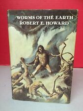 Worms Of The Earth Robert E Howard 1974 Grant Publishing HC Book 1st Print