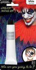 28ml Cream Face & Body Paint Fancy Dress Party Make Up Accessory - White