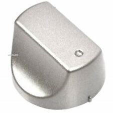 For Hotpoint SHS33CX, UHS53X, DH93CX Cooker Oven Hob Control Dial Knob silver