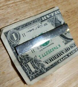 Vintage Swank Money Clip 21g Old School Quality NICE