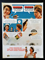 Vtg 1967 Comet cleanser Josephine the plumber retro advertisement print ad