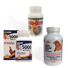Gallomin-B12-Testo-Dione Trio M�Xima Potencia Para Gallos De Pelea