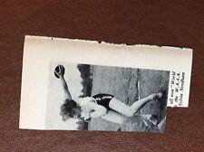 b1M ephemera 1951 picture discus sylvia needham