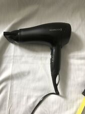 Remington Powerful Ceramic Ionic Hair Dryer 2000 W - Black (D3010 )