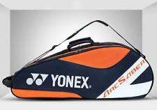 YONEX Badminton Shoulder Bag Single Strap Orange Hold 4 Racquet Two Compartments