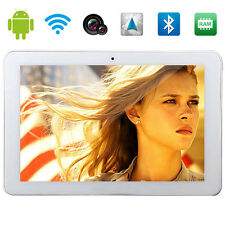 """New Arrival 10.1"""" Android 4.4 3G Phone Tablet Quad Core GPS WiFi Dual SIM US Hot"""