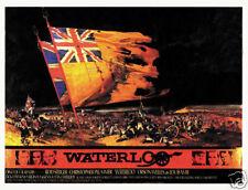 Waterloo Rod Steiger cult movie poster print