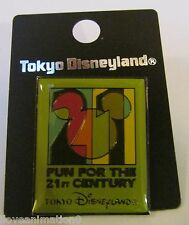 Disney Fun For The 21St Century from TokyoDisneyland Green Pin