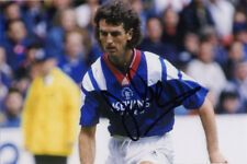 Dave McPherson, Glasgow Rangers & Scotland, signed 6x4 inch photo. COA. Proof.