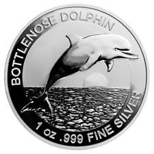 Australien - 1 Dollar 2019 - Bottlenose Dolphin - Anlagemünze - 1 Oz Silber ST
