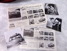 1950s FORD F-900 PICKUP TRUCK Original Photos & Magazine Ads COUNTRY GENTLEMAN
