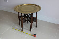 Less than 60cm High Mahogany Round Coffee Tables