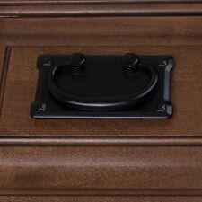 """1011-BK 3"""" CC Old Mission Cabinet Drawer Pull Drop Handle  - Matte Black"""