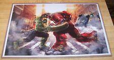 Hulk vs. Hulkbuster Iron Man 11X17 Art Print