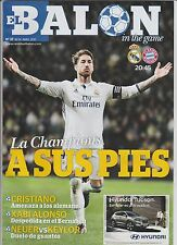 Orig.PRG  Champions League  2016/17   REAL MADRID - BAYERN MÜNCHEN  1/4 FINALE !